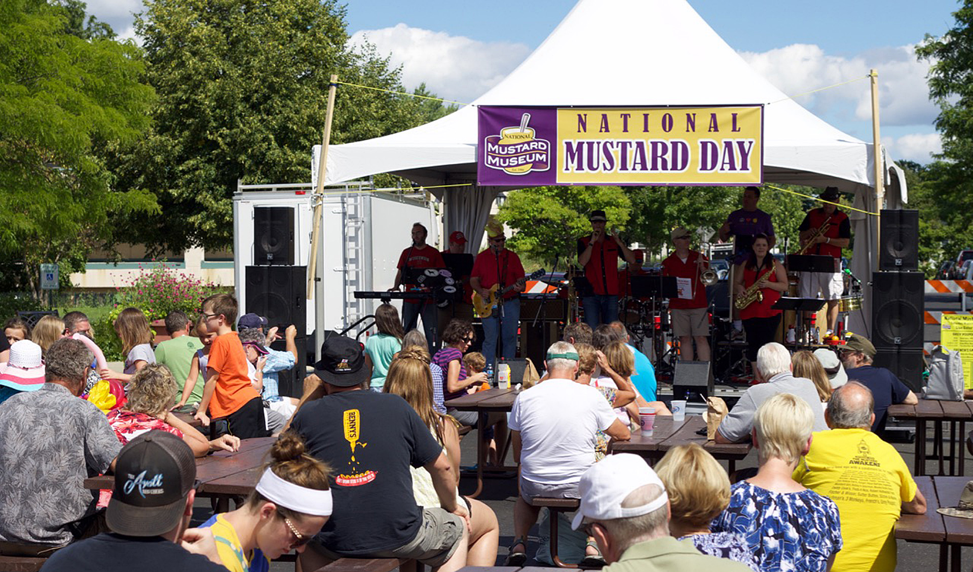 National Mustard Day Live Music